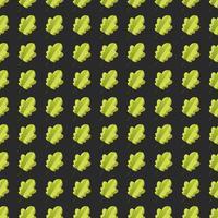 Seamless mönster med färgglada höstlöv.