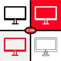tv ikon symbol tecken vektor