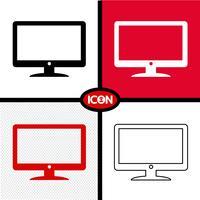 tv ikon symbol tecken