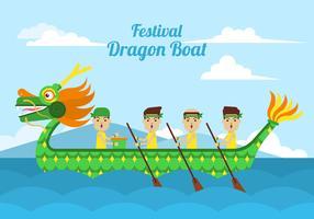 draken båt clipart