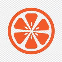 Orange ikon symbol tecken