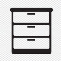 garderob ikon symbol tecken vektor
