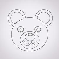 Bear ikon symbol tecken