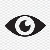 View Icon Symbol Zeichen vektor