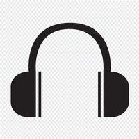 Kopfhörer-Symbol Symbol Zeichen