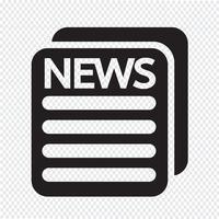 News-Symbol Symbol Zeichen vektor