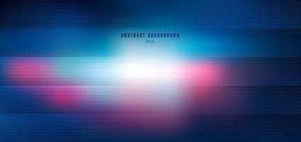 Abstrakt suddig blått och rosa med belysning radiell effektbakgrund