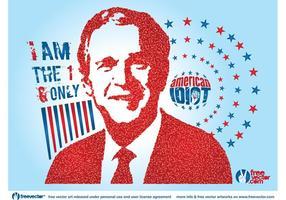 George Bush vektor
