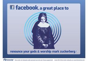 Verehrung facebook vektor