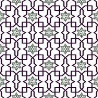 Traditionelles arabisches verwirrtes Muster. Nahtloser Vektor Hintergrund.