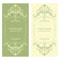Einladung. Schöner Vintager Designrahmen für Ihren Text.
