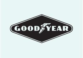 Goodyear Vektor-Logo vektor