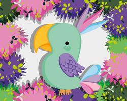 Süße wilde Vögel vektor