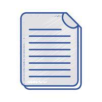 Informationen zu Geschäftsdokumenten zu Unternehmensinformationen vektor