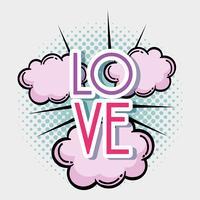 Liebe Pop-Art
