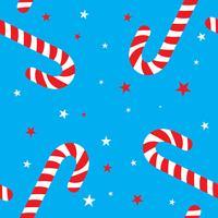 godisrotting mönster design för juldekoration, godisrotting bakgrund design, julsymbol