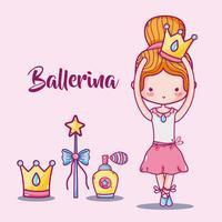 ballerina tillbehör dekoration till elegans prestanda