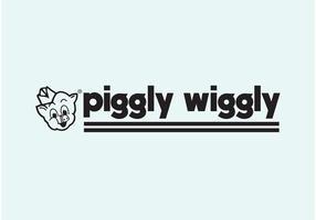 Piggly wiggly vektor