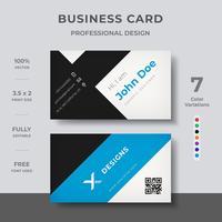 Företagskort vektor