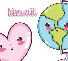 Niedliche Kawaii Cartoons