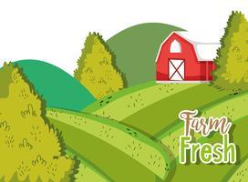 Ekologiska tecknat för jordbruk