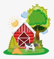 Farm niedlichen Cartoons