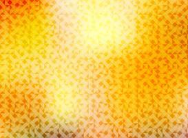 Abstrakter Herbsthintergrund mit dem Dreieckmuster, das helle rote, gelbe und orange Farbe glänzt.