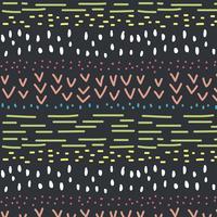 Doodle färgglada mönster