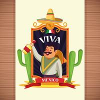 Viva mexikoteckningar