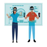 Virtual Reality-Technologie