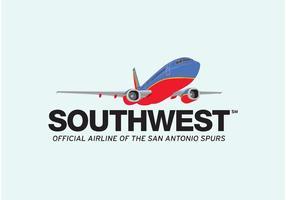 Sydvästra flygbolag vektor