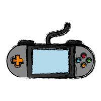 tragbares Videospiel-Symbol vektor