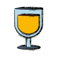 Glas-Symbol zu trinken