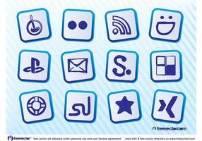 Gratis sociala ikoner