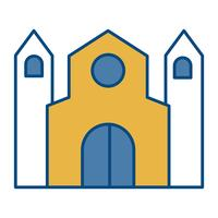 kyrka byggnad ikon