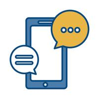 smartphone enhet ikon