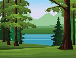 Fernweh Landschaft Landschaft vektor