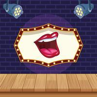 Entertainment-Show-Konzept