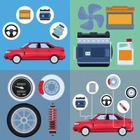 Bilfabrik och delar