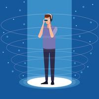 Virtual reality-teknik