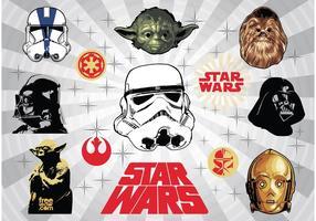 Star Wars-Vektoren vektor