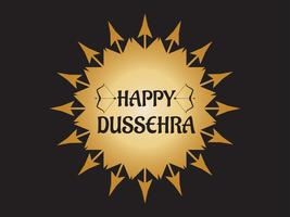 Glückliches Dussehra-Festival von Indien-Dekoration mit Pfeil und Bogen Hintergrund