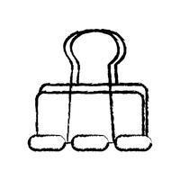 figur metall klipppapper kontorsutrustning