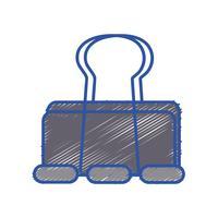 kontorsutrustning för metallklippspapper