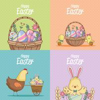 Glad påskkortsamling