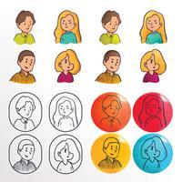 Leute-Charakter-Vektor-Satz