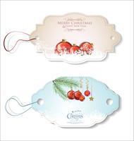 Set Weihnachtsgeschenkmarken