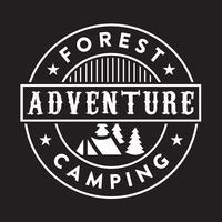 Adventure Logo und Abzeichen, gut für den Druck
