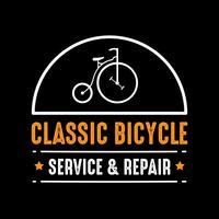 Cykelemblem och logotyp, bra för tryck