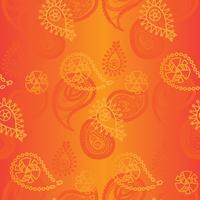 Seamless indiskt mönster